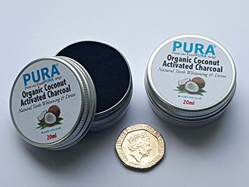 purar-fine-coconut-activated-charcoal-powder-20ml-twin-pack-organic-teeth-whitening