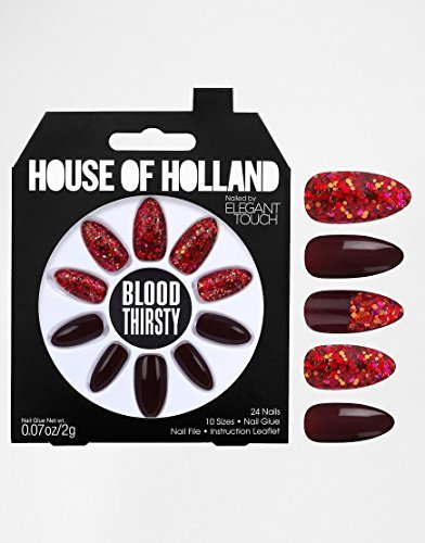 Elegant Touch House of Holland Nägel - Bloodthirsty (Dye-trend Dip)
