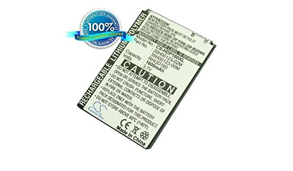 1600mAh Battery For HTC Touch Pro 2, Maple 100, S522, RHOD100