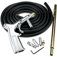 Tragbares pneumatisches Sandstrahlger/äte Sandstrahlpistole mit 15-Fu/ß-Schlauch /& 50 lbTrichterkapazit/ät