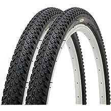 Par de Fincci por Carretera de Montaña Bicicleta Híbrida Neumático Cubiertas ...
