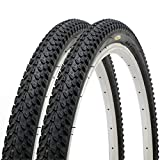Pair of Fincci MTB Mountain Hybrid Bike Bicycle Tyres 26 x 2.125 57-559