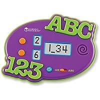 Learning Resources - Flashcard elettronica per imparare numeri e lettere