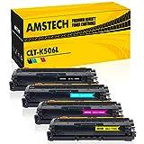 Amstech 4Pack Kompatibel Samsung CLT-K506L CLT-506L CLT-C506L CLP-680ND CLP-680DW für Samsung CLT-M506L CLT-Y506L 506L Samsung CLP 680 680DW CLX-6260 CLX 6260FD 6260FW 6260FR CLX-6260ND Toner Drucker