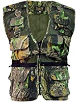 Camouflage Multi Pocket Camo Fishing Hunting Army Military Waist Coat Vest