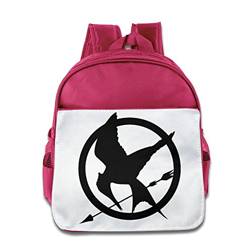 Los Juegos del Hambre Logo mochila niños escuela bolsas azul eléctrico