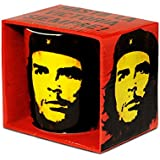 Vintage Che Guevara Porzellan Tasse - Kaffeebecher - rot - Lizenziertes Originaldesign - LOGOSHIRT