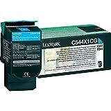 Lexmark Cartouche de toner à rendement extrêmement élevé 1 x cyan 4000 pages LRP / LCCP C544X1CG