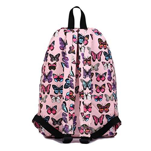 Miss Lulu , Damen Umhängetasche 1401B Pink