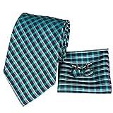 Hi-Tie - Corbata - para hombre Verde 3050-n Talla única
