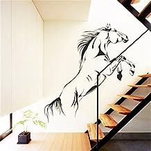 Skyllc® Pentium decoración del hogar de la oficina caballo PVC de pared pegatinas