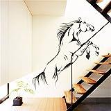 Skyllc® Pentium Pferd Büro Zimmer Home Dekoration PVC Wandaufkleber Tapeten Decals Wohnzimmer Dekor