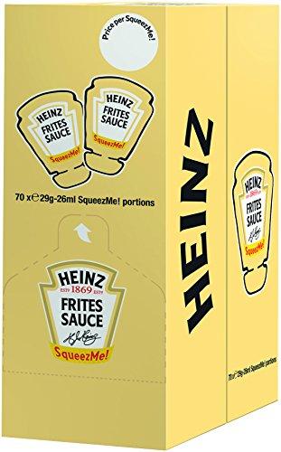 Heinz Frites Sauce, SqueezMe , 70er Pack (70 x 26 ml)