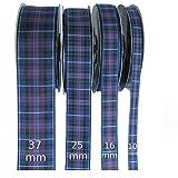 Lazo de cuadros escoceses, diseño de orgullo de Escocia (moderno), disponible en varias medidas, tela, Pride of Scotland(Mod), 25mm Wide