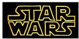 Starwar Logo Comic parche película legendaria '9,5 x 5 cm' - Parche Parches Termoadhesivos Parche Bordado Parches Bordados Parches Para La Ropa Parche