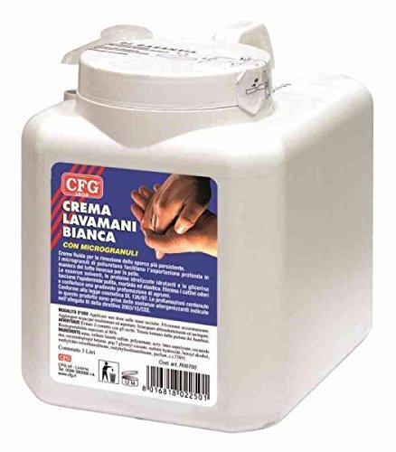 Crema lavamani Blanca Fluido L 3con dispensador