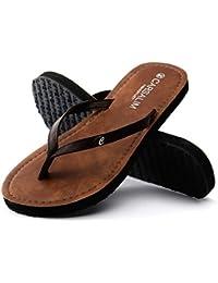 Sandalen Sommer Pantoffeln Strand Mode Outdoor Schuhe Weiß, Schwarz, Braun stilvoll (Farbe : Schwarz, größe : EU36/UK4/CN36)