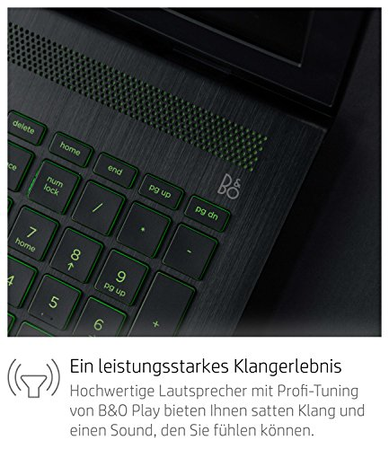 HP Pavilion power 15 cb003ng 396 cm 156 Zoll FHD IPS Gaming Laptop Intel core i5 7300HQ 8GB RAM 1TB HDD 128GB SSD NVIDIA GeForce GTX 1050 2GB DDR5 Windows 10 household 64 schwarz Notebooks