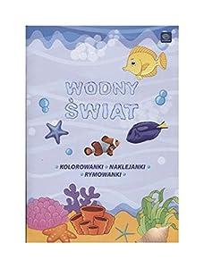 Interdruk MAA4WÂ - Libro para Colorear (A4, 16 Pegatinas), diseño de Mundo acuático