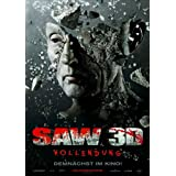 Saw 3D Poster (27 x 40 Inches - 69cm x 102cm) (2010) German