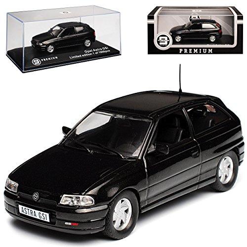Ixo Opel Astra F GSI 16V 3 Türer Schwarz 1991-2000 limitiert 1 von 1000 Triple 9 1/43 Modell Auto