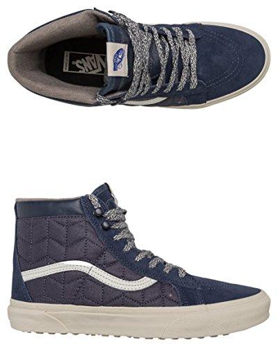 Vans U Sk8-hi MTE ca, Sneaker Alte Unisex – Adulto Blu