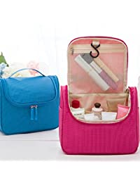 EasyBuy India Orange : Donbook Multifunction Makeup Organizer Bag Women Cosmetic Bags Toiletry Kits Outdoor Travel...