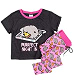 BC International Womens Pusheen Purrfect Night In Pyjama Set
