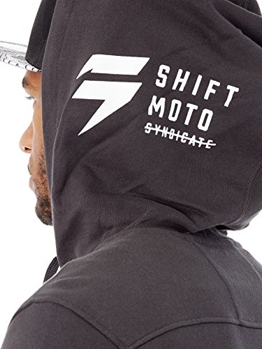 Shift Zip-Hoody 3lue Label Schwarz Schwarz