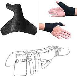 Daumenbandage daumen - wache mit handgelenk wickeln (1 pc, unisex, links und rechts, m), 3d - volle finger schienen, daumen arthritis schmerzen unterstützung