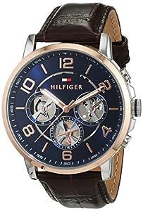 Tommy Hilfiger Hombre Reloj de pulsera Sophisticated Sport analógico de cuarzo piel 1791290