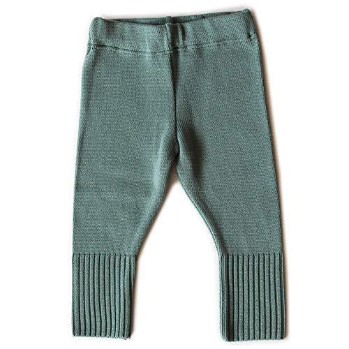 SOMMER & KINDER warme Strick Hose für Mädchen und Jungen aus 100% Merinowolle
