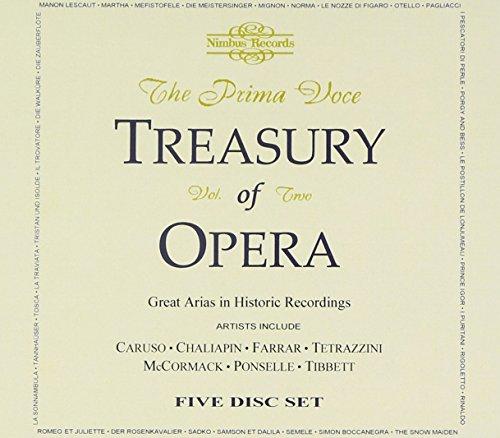Preisvergleich Produktbild Prima Voce - Treasury Of Opera Vol. 2