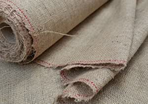 Hessian burlap jute natural fabric cut from the roll 10oz top quality choose your length - Choosing the best slipcover fabrics for your home ...