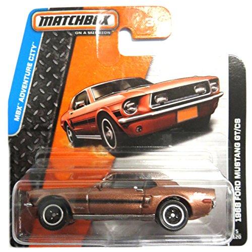 Preisvergleich Produktbild Matchbox Ford Mustang GT/CS 1968 braunmetallic 1:64