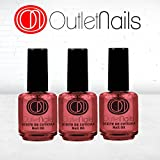 3 x Oli di cuticole – Ciliegia 15 ml / Ideal per unghie / French Manicure / Nail Oil