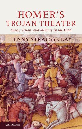 Homer's Trojan Theater Paperback por Strauss Clay