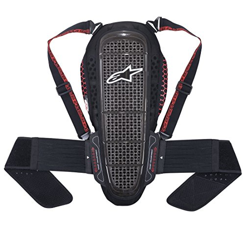 Rückenprotektor Alpinestars Nucleon KR-1 Backprotector Black/Smoke/red, M