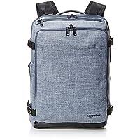 حقيبة ظهر رفيعة للرحلات من قماش الدنيم للجنسين من أمازون بيسكس