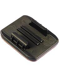Kitvision Halterungsset einschließlich x5 3M Klebepads mit Halterung für Edge HD30W Waterproof Full HD 1080p Wasserdichte Sport Kamera Action Camera - Schwarz