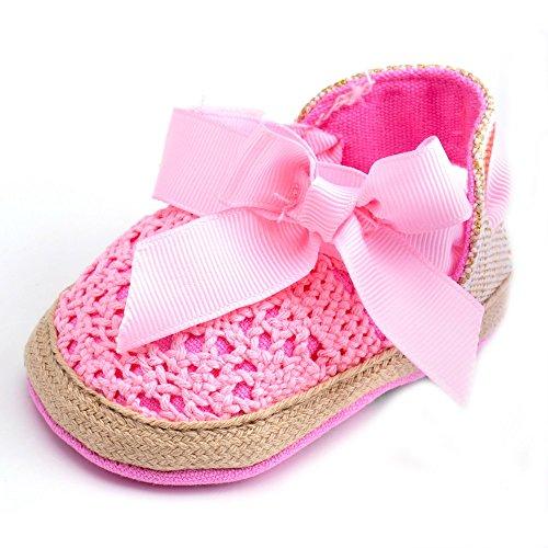 Estamico,Bébé fille d'été Chaussures bébé Sandales nous Rose