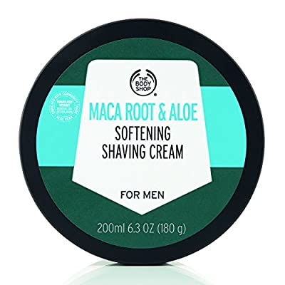The Body Shop Maca Root and Aloe Softening Shaving Cream 200ml