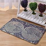 YANFEI Teppich, Spezielle Muster-Matte, Schlafzimmer-Wohnzimmer-Matte kann maschinell gewaschen werden, 15.7