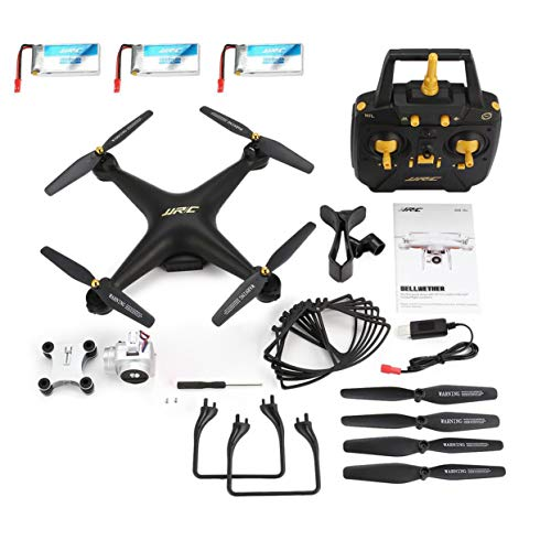 JJR/C H68 2.4G FPV RC Quadcopter con 720P HD Cámara Altitud Mantener Modo sin Cabeza 20mins Vuelo Largo Tres versión de batería