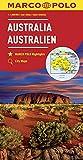 MARCO POLO Kontinentalkarte Australien 1:4 000 000: Wegenkaart 1:4 000 000 (MARCO POLO Kontinental /Länderkarten)