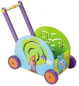 Boikido Push and Play Rabbit Wagon Playset