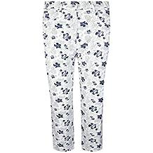Glenmuir Ladies 'elástico ligero Impreso Capri pantalones