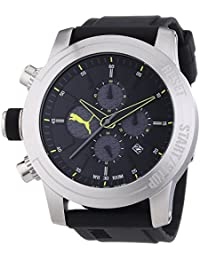 PUMA TIME Herren-Armbanduhr XL IMPULS Chronograph Quarz Resin PU103791002