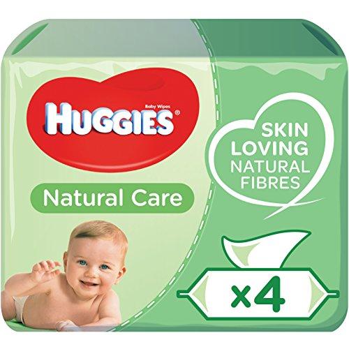 HUGGIES Nouvelles Lingettes Natural Care 4 X56