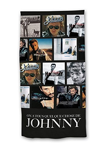serviette Johnny Hallyday